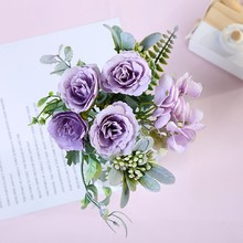 Get more info on the Arsmundi Fall Decor Fake Rose Silk Flower Artificial Flowers Wedding Home Accessories Decoration Fake Flowers Room Decor Flower