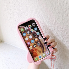 Cute 3D doll Melody Cinnamoroll phone case for iphone 11 Pro X XR XS MAX 6 7 8 plus