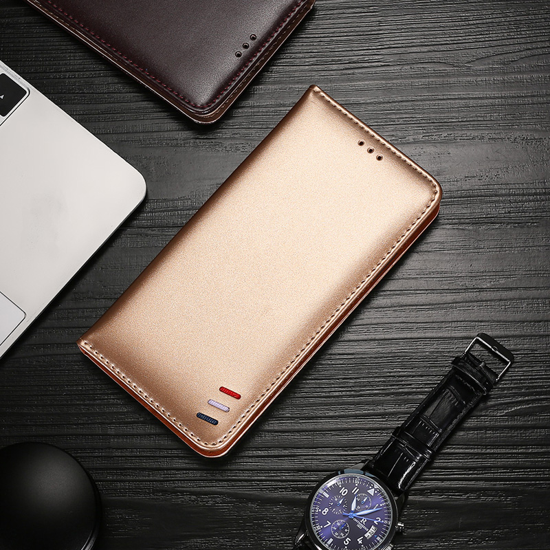 Leather Phone <font><b>Case</b></font> For <font><b>Xioami</b></font> <font><b>Redmi</b></font> <font><b>Note</b></font> 9 8 8T 7 6 5 5A <font><b>4X</b></font> 4 8A 7A 6A 5A 5 Plus Wallet Card Slot Flip Magnetic Cover image