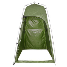 Upgraded Version Camping Toilet Tent Outdoor Single Person Bath Shower Tent Portable Dressing Account Move Tent single room outdoor camping shower tent changing room toilet tent fishing camping tent external account orange