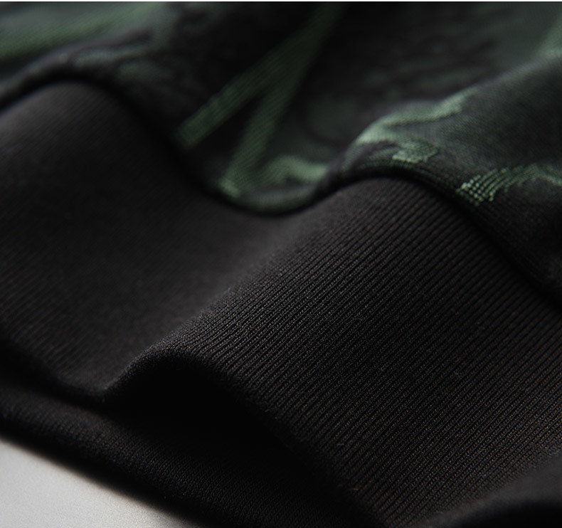 Add Velvet Thick Sweatshirt Men Luxury Round Collar Contrast Color Sweatshirt Male Autumn Winter Thick Mens Hoodies 4XL - 5