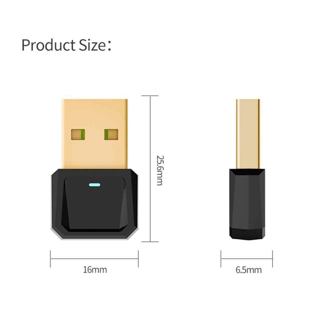 5.0 Adaptor Nirkabel USB Bluetooth untuk Komputer Laptop Mini Bluetooth Dongle untuk Mouse Gamepad Printer PC USB Adaptor Transmitter