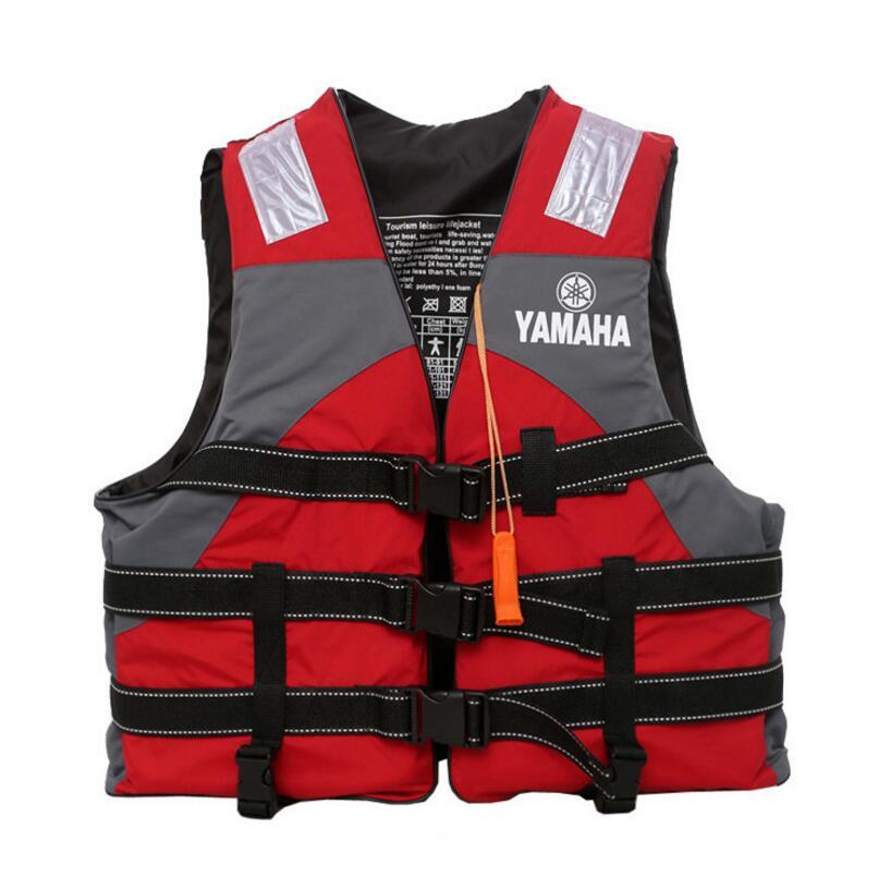 Спасательный жилет yamaha для детей и взрослых, одежда для плавания и Сноркелинга на открытом воздухе, для рафтинга, костюм для рыбалки, профес...