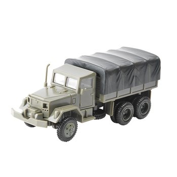1:72 M35 Military Truck 4D Wheeled Armored Vehicle Rubber-free Assembly Model Military Toy Car Gifts 1 72 assembly tank model sherman challenger diy puzzle plastic assembly free assemble military model