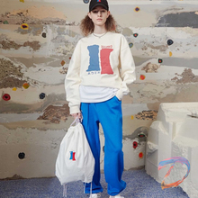 Men Women Ader Error Sweatshirts High Quality Color Printed Pullover Adererror Casual Loose Round Neck Sweater