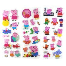 цена Peppa Pig Sticker Toy Patrulla Canina Action Character Toy Child Child Toy Gift Piggy Page онлайн в 2017 году