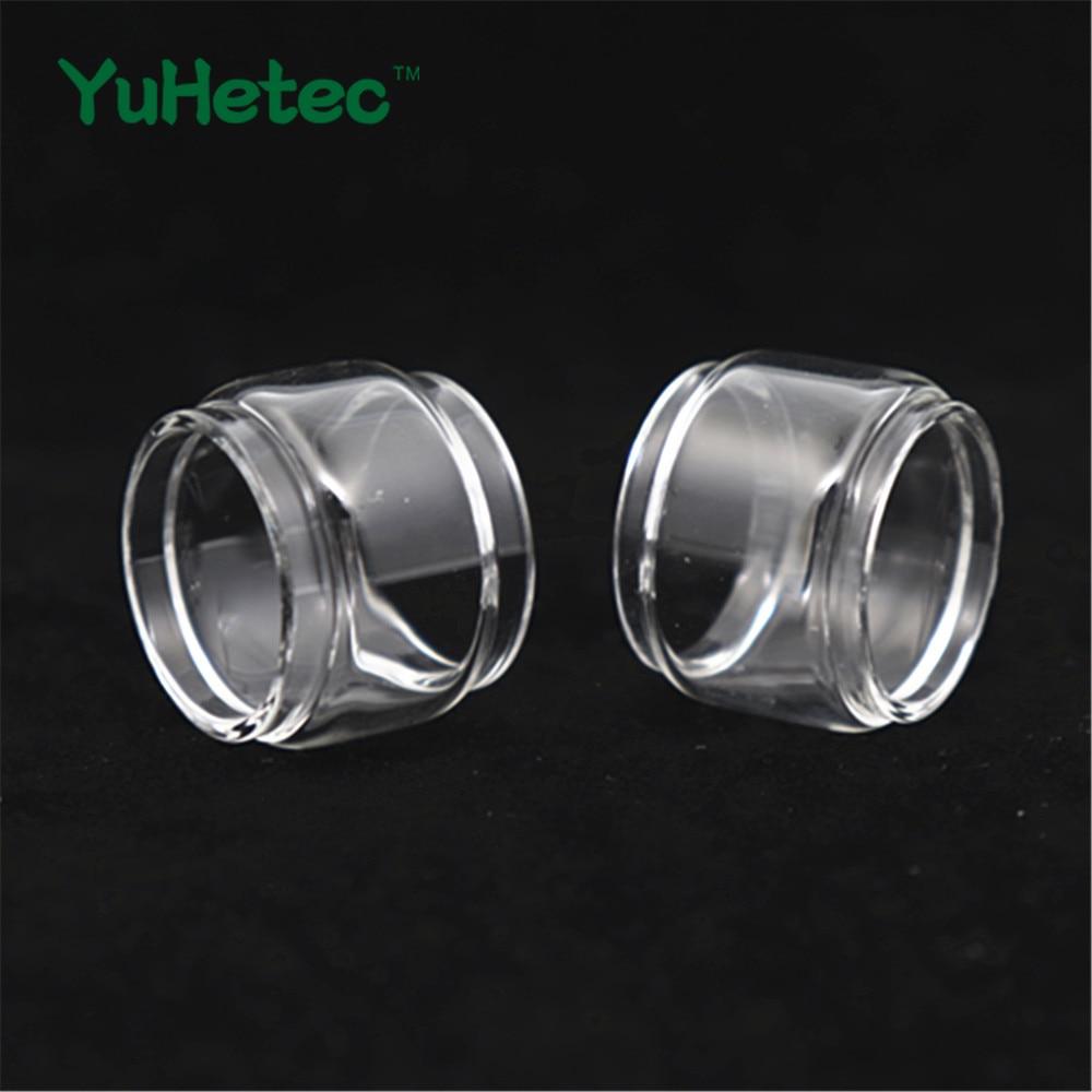 2PCS Original YUHETEC Replacement Glass TUBE For SMOK TFV Mini V2 Tank 2ml/5ml