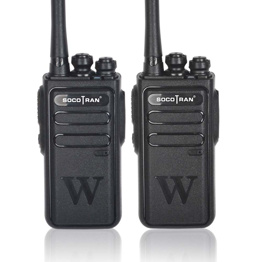 Socotran Handheld Walkie Talkie Portable Radio 5W High Power UHF Professional Two Way Ham Radio Communicator