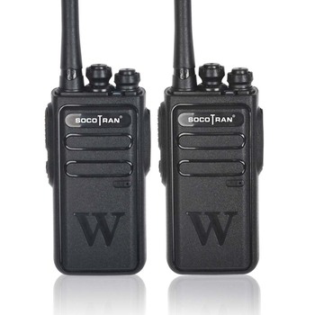Socotran Handheld Walkie Talkie Portable Radio 5W High Power UHF Professional Two Way Ham Communicator - sale item Walkie Talkie