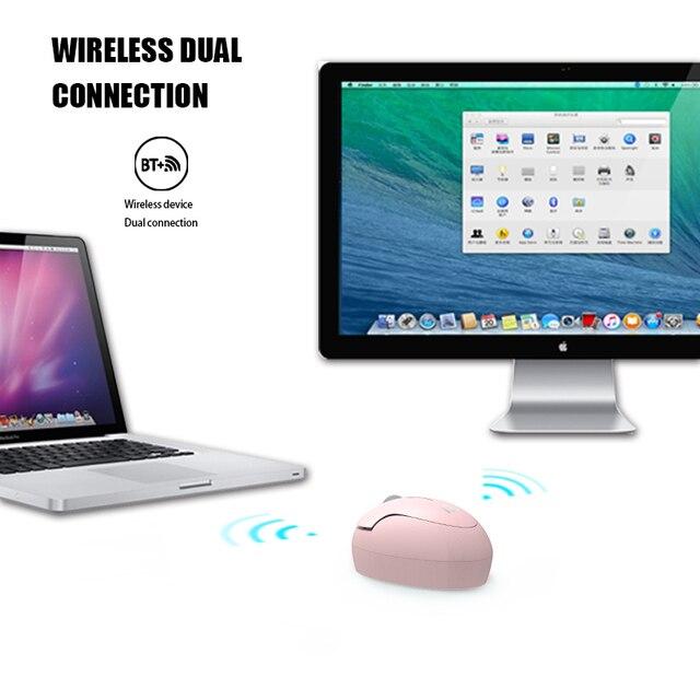Fude I889d souris ordinateur accessoires Bluetooth Mini ordinateur portable bureau maison souris universelle batterie sans fil photoélectrique