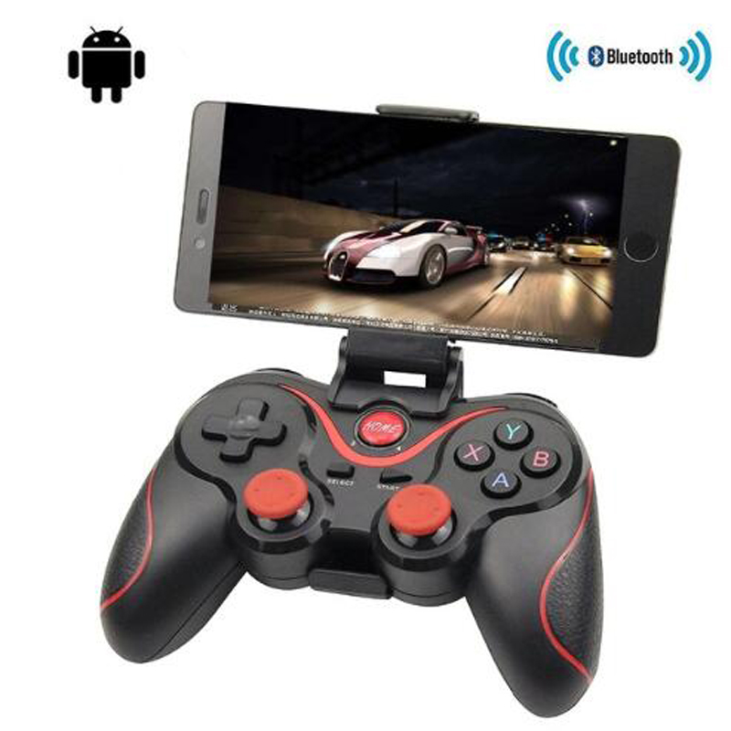 T3 X3 Wireless Joystick Bluetooth 3.0 Gamepad Gaming Controller Gaming Remote Control for Tablet PC Android Smart mobile phone image