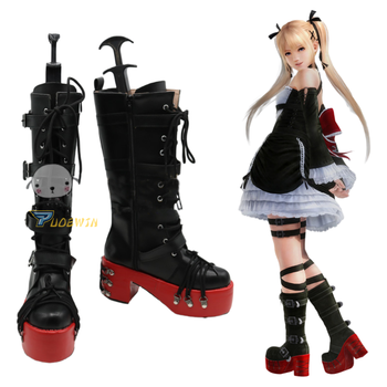 Game Dead or Alive 5 Marie Rose Cosplay Shoes Anime Party Boots Custom Made the rising of the shield hero itsuki kawasumi shoes cosplay boots custom made any size