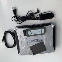 6154 ODIS V5.1.3 WIFI Version OBD OBD2 Diagnostic Tool 6154 Bluetooth for UDS Scanner with CF30 Laptop