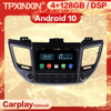 Reproductor multimedia con Android 10 y navegación GPS para Hyundai, autorradio estéreo 2 Din con reproductor de Audio, para Hyundai Tucson IX35 2014 2015 2016 2017 2018 2019