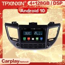Autoradio Carplay Android 10, récepteur stéréo 2 Din, unité principale Audio, Navi, pour Hyundai Tucson IX35 (2014, 2015, 2016, 2017, 2018, 2019)