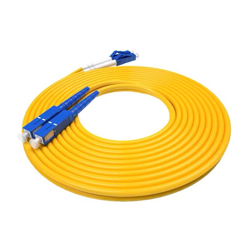 10pcs Premium 3M SC-LC Duplex 9/125 SingleMode SM Fiber Optic Cable Patch Cord Jumper