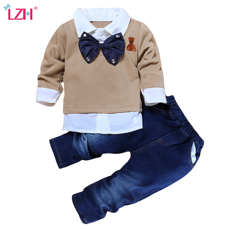 Children Clothing Autumn Winter Toddler Boys Clothes Outfit Suit Kids Clothes Tracksuit title=