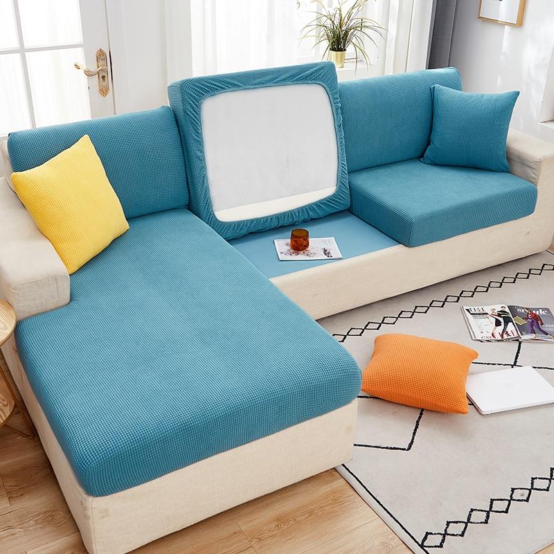 Эластичный чехол для дивана, защитное покрытие для мебели, кресла, гостиной