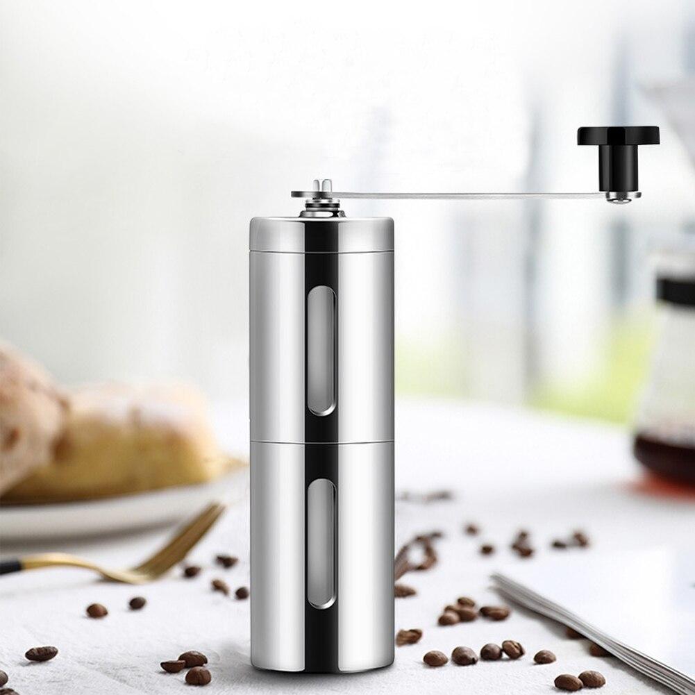 Ручная кофемолка из нержавеющей стали регулируемая кухонная
