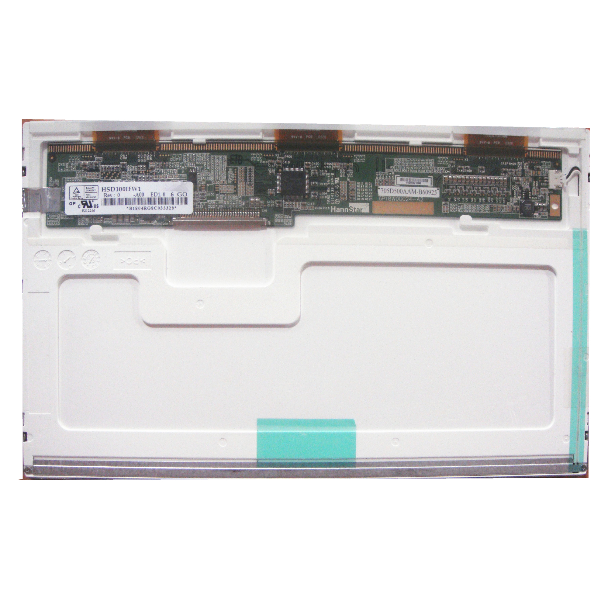 Free Shipping <font><b>HSD100IFW1</b></font> A00 A04 HSD100IFW4 For Asus Eee PC 1011CX 1000H 1005P 1005PE Laptop Lcd Screen 1024*600 LVDS 30 Pins image