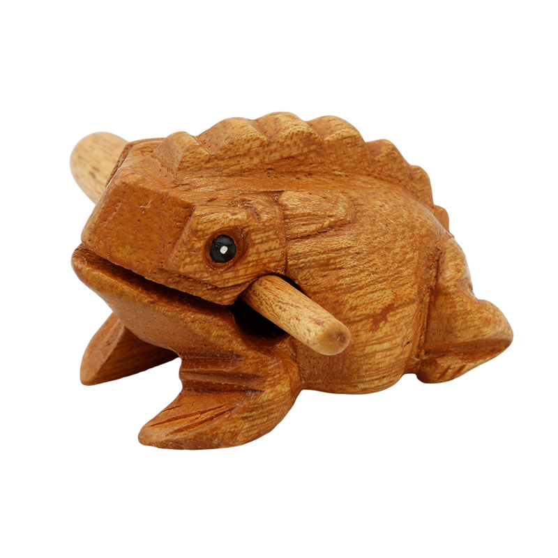 Hot Ultralight Wooden Lucky Frog Toys Scenic Wooden Brinquedos High Quality Crafts Ornaments Toads Model For Adult