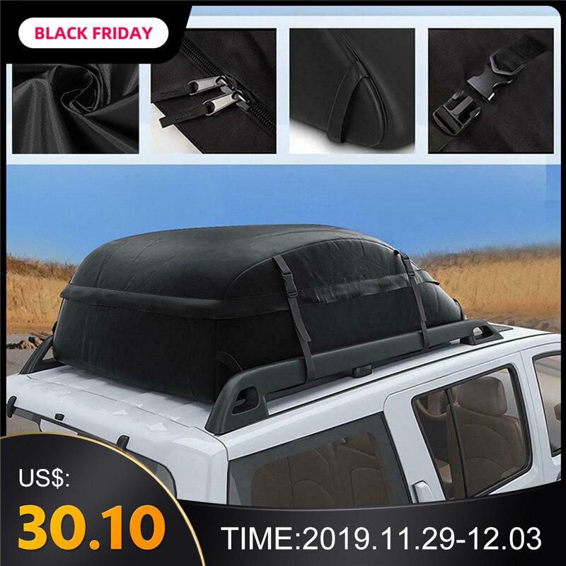 130X100X43cm 20 bolsa de techo de carga de coche cúbico impermeable portaequipajes de techo negro de almacenamiento de viaje impermeable camioneta SUV para coches Modelo a escala de 5 uds material de construcción techos de láminas de PVC en tamaño 210x300mm para diseño de la arquitectura