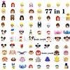 2021 New Disney Classic Movie Cartoon Minifigures tutti i personaggi Mickey Minnie DIY Building Block Toy Model giocattolo per bambini regalo