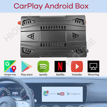 NEW Wireless Apple CarPlay AI BOX, Android Auto, Universal Car Android Multimedia Player Box, Android 9.0 System, Mirror-Link
