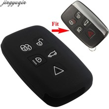5 Buttons Remote Silicone Rubber For Land Rover A9 Sport Evoque Freelander 2 Jaguar XE XJ XJL XF C-X16 V12 Guitar F X Typ