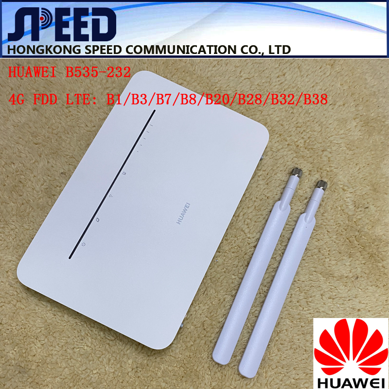 Huawei b535 B535 232 4g 3 pro roteador lte 300mbps sma + antena par|null|   -