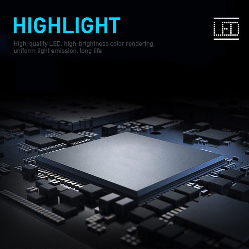 12V Car Led Light Strip DRL Daytime Running Lamp Strips Flexible LED Auto Headlight Surface Decorative Lamp Turn Signal Lights 5