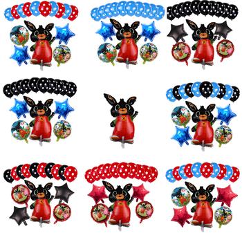 Globos Bing królik Anime balony kreskówka z dekoracji strony zwierząt Kawaii zabawki balonowe lols prezent tanie i dobre opinie Model MATERNITY 4-6y 7-12y 12 + y 18 + CN (pochodzenie) PIERWSZA EDYCJA Peryferyjne Zachodnia animacja Produkty na stanie
