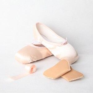 Image 5 - 2019 ร้อนเด็กและผู้ใหญ่บัลเล่ต์Pointe Danceรองเท้าสุภาพสตรีProfessionalบัลเล่ต์รองเท้าเต้นรำริบบิ้นรองเท้าผู้หญิงจัดส่งฟรี