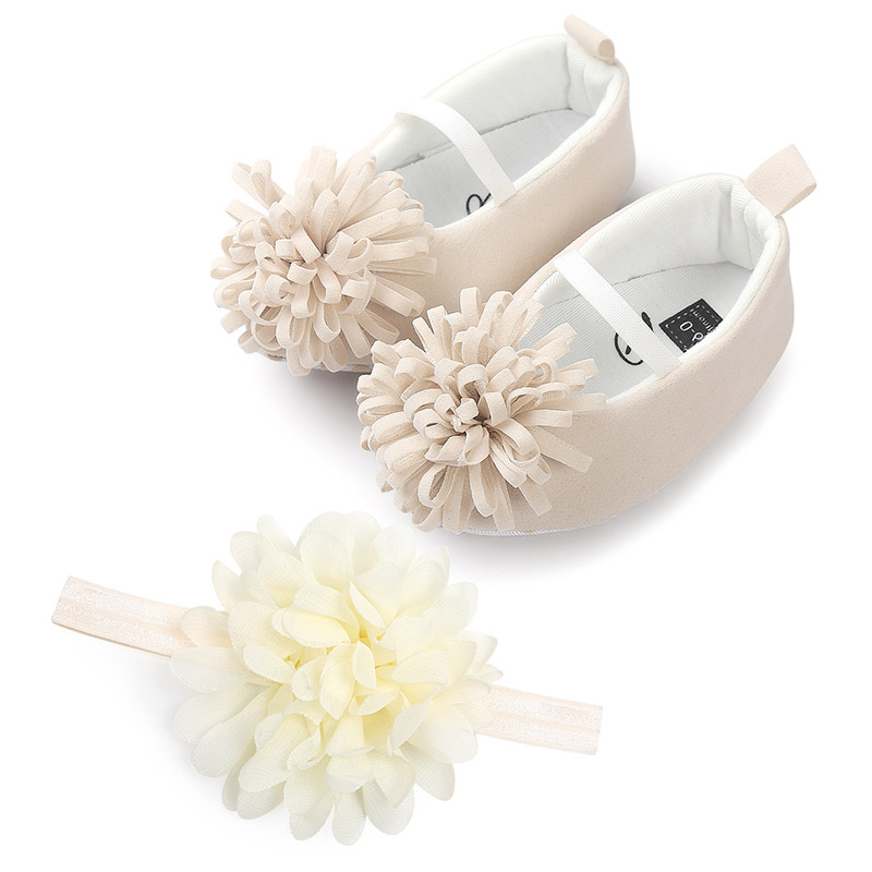 Baby Girl Shoes First Walker Breathable Small Flower Baby Shoes Newborn Toddler Soft Soled Cute Cotton Baby Crib Shoes