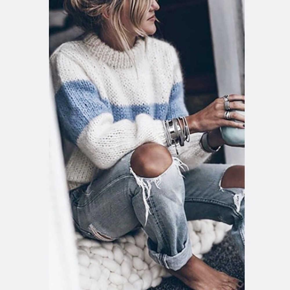 가을 겨울 여성 스웨터 pullovers 한국어 스타일 긴 소매 스웨터 슬림 터틀넥 니트 점퍼 스웨터 mujer