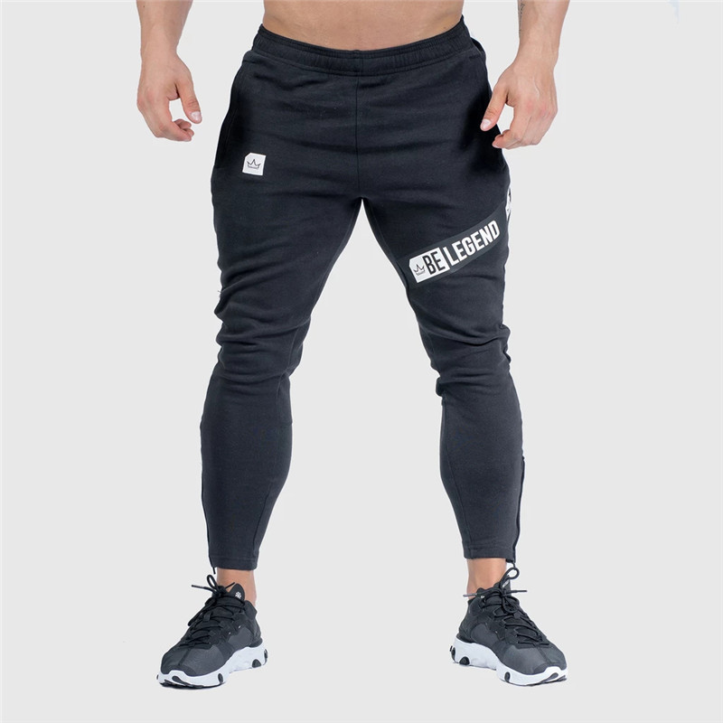 Pants Men Pantalon Homme Streetwear Jogger Fitness Bodybuilding Pants Pantalones Hombre Sweatpants Trousers Men SH 17