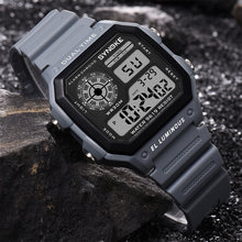 SYNOKE Männer Sport Uhren Mode Countdown Männer der 3M Wasserdichte LED Digital Armbanduhr Mann Military Uhr Relogio Masculino