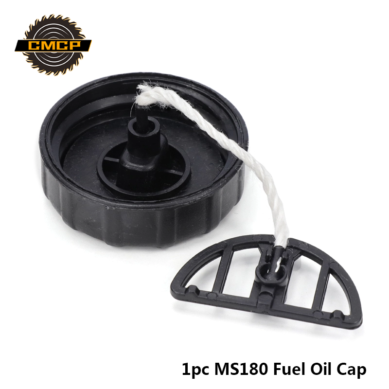 1pc MS180 Fuel Tank Cap Fit For Stihl  Chainsaw MS180 Fuel Oil Cap Fuel Cap Garden Accessories