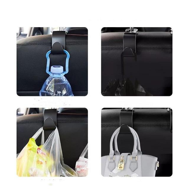 4x автомобильные крючки спинки сиденья сумка вешалка для bmw фотография