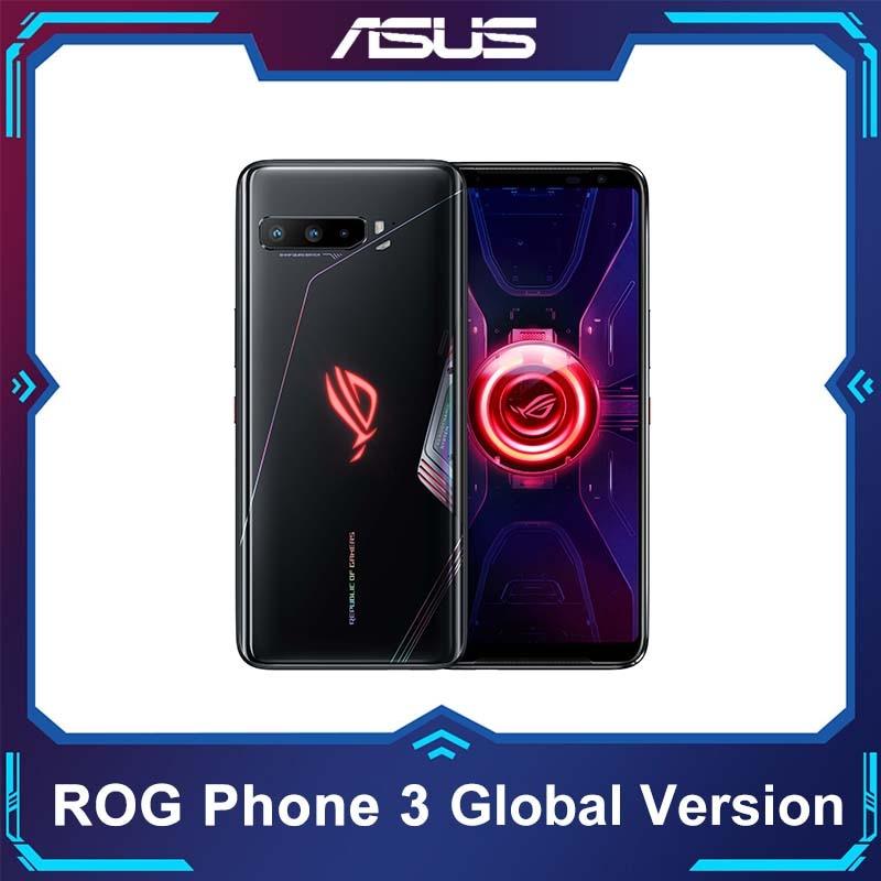 ASUS ROG Phone 3 глобальная версия 5G смартфон Snapdragon865plus 8RAM128ROM 6000 мА/ч, OTA Update Android Q игровой телефон ROG 3