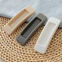 New 2pcs/set Self adhesive Plastic Sliding Door Pull Window Handle Cupboard Cabinet Kitchen Drawer Knobs|Door Handles| |  -
