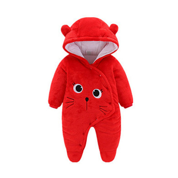 LZH Baby Winter Clothes Newborn Baby Girls Overall Autumn Baby Romper For Baby Boys Jumpsuit Christmas Costume Infant Clothing 12