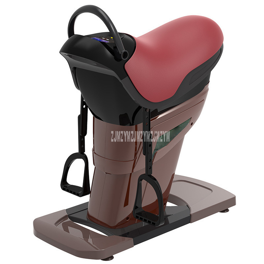 Household Indoor Electric Riding Machine Horse Riding Exercise Machine Body Slimming Training Fitness Weight Loss Equipment 220V