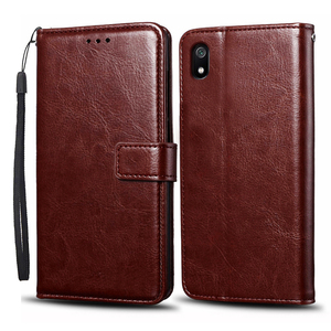 Image 2 - Case For Xiaomi Redmi 7A Case Cover Soft Silicone PU leather flip For Coque Xiomi Redmi 7A Phone Case with Card Holder Magnetic