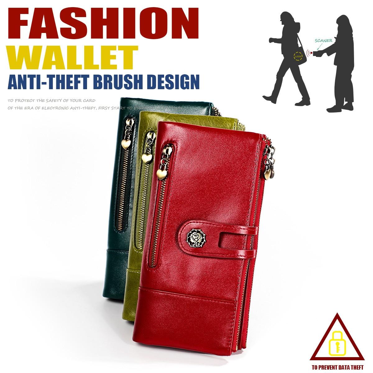 Mignon Femme Portefeuille en cuir porte-monnaie Clutch Wallet Lady Card Holder petit sac