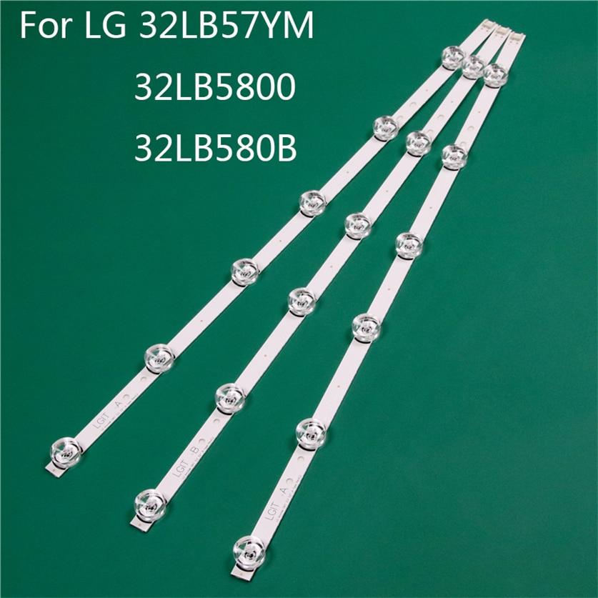 LED TV Illumination Part Replacement For LG 32LB5800-ZM 32LB580B-ZM 32LB57YM-JB LED Bar Backlight Strip Line Ruler DRT3.0 32 A B