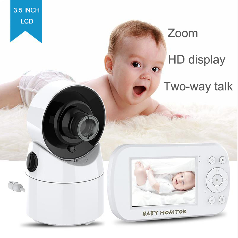 Baby Monitor with Camera and o Lcd Sn Infrared Night Vision Temperature Display Video Baby Monitor US Plug