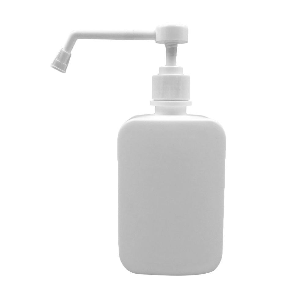 500ml Plastic Manually Hydraulic Pump Liquids High-Pressure Nozzle Head Syrup Dedicated Pump Plastic Pressure Nozzle Bottle