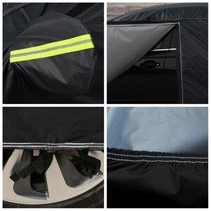Image 5 - Universal Wasserdichte Volle Auto Abdeckungen Outdoor sun uv schutz staub regen schnee schutz für Subaru impreza wrx XZ BRZ