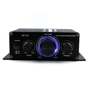 Car Amplifier 12V Mini Hi-Fi A